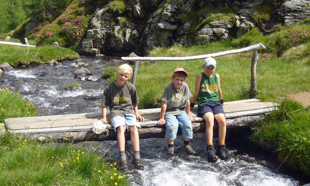 Active holidays in South Tyrol for families and children