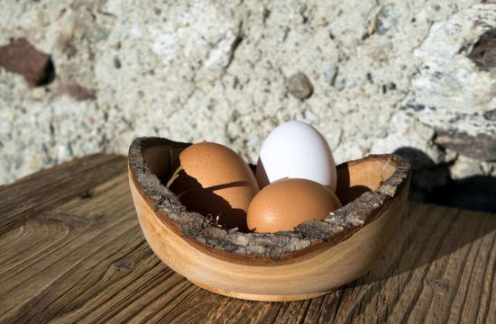 Täglicher Frühstücksservice und leckere hofeigene Produkte