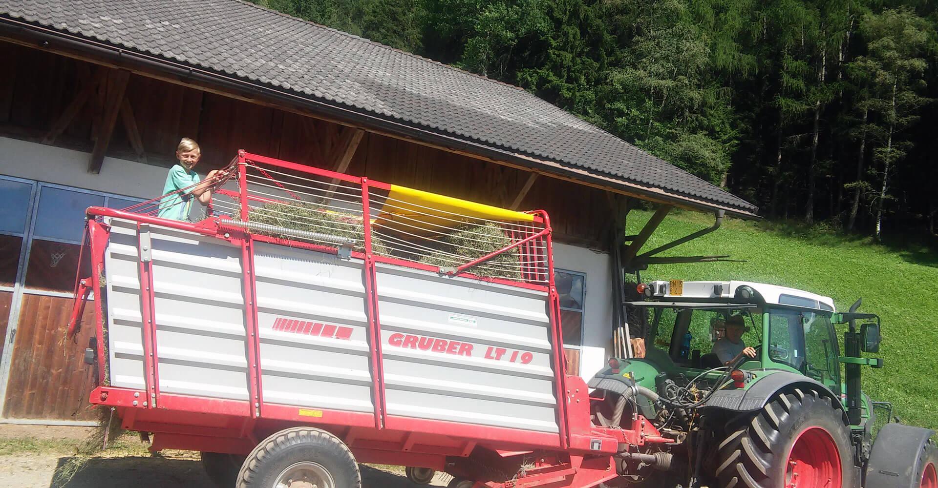 Kinderbauernhof Südtirol