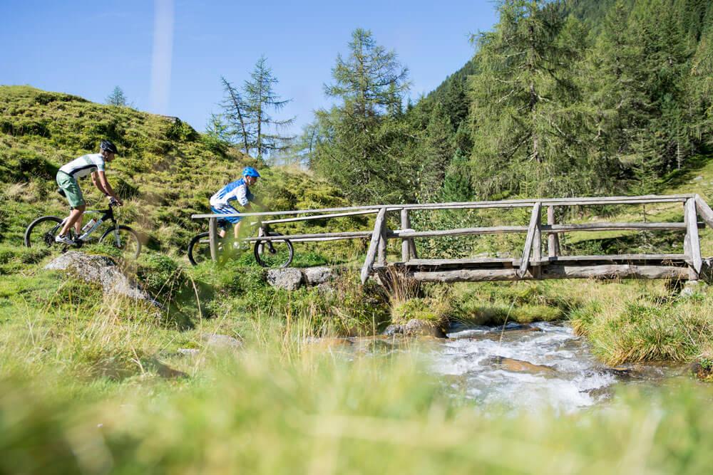 Radurlaub in Südtirol - Fahrradfahren, wo Südtirol am schönsten ist